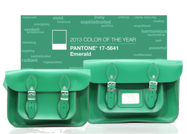 Emerald Satchel