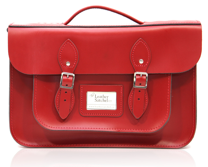 Leather-Satchel-Pillarbox-Red-front